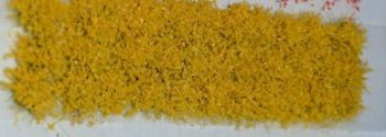 30 x Self Adhesive Flower Tufts - Yellow